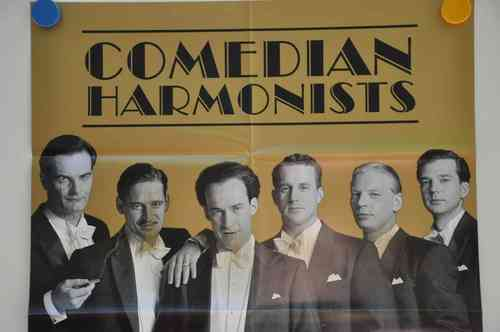 Movie Poster Comedian Harmonists Video shop 90s
