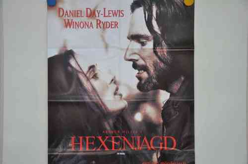 Movie Poster The Crucible Video shop 90s