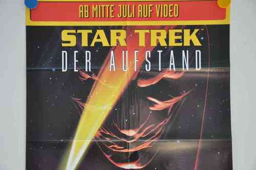 Movie Poster Star Trek Video shop 90s