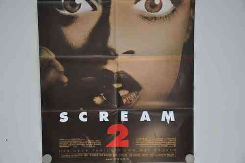 Movie Poster Scream 2 Video shop 90s