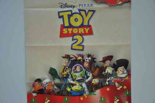 Movie Poster Toy Story 2 Video shop 90s