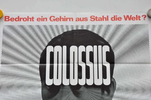 1970 Movie poster Colossus A1