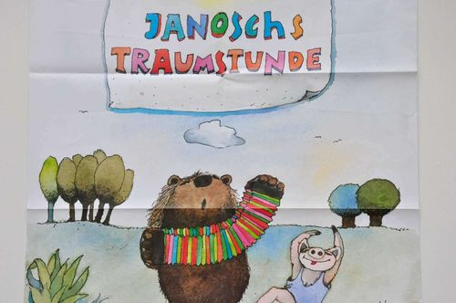 WDR Janosch dream hour poster with bear