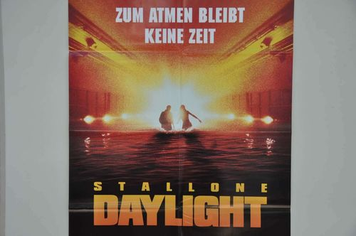 Movie Poster Sylvester Stallone Daylight Video shop 90s