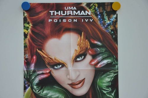 Movie Poster Uma Thurman Poison Ivy Teaser Video shop