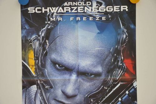 Movie Poster Schwarzenegger Mr. Freeze Teaser Video shop