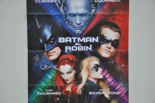 Movie Poster Batman & Robin Video shop