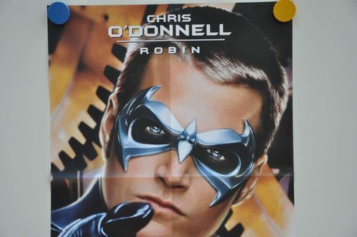 Movie Poster Chris O'Donnell Robin Teaser Video shop