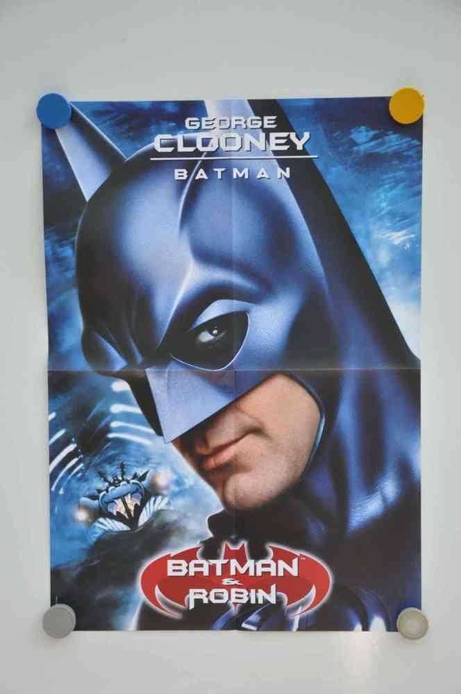 Movie Poster George Clooney Batman Teaser Video Shop Kusera