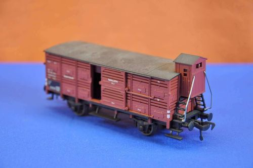 Fleischmann H0 freight car 27/4 showcases pieces