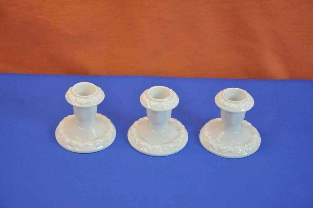Rosenthal maria weiß 3 kerzenhalter günstig kaufen bei kusera