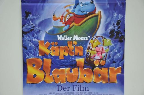 Cute Captain blue bear german movie poster
