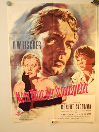 German Film Poster My father of the actor 1