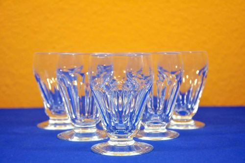 Cut Crystal Moser Marienbad 6 Malt Whisky glasses