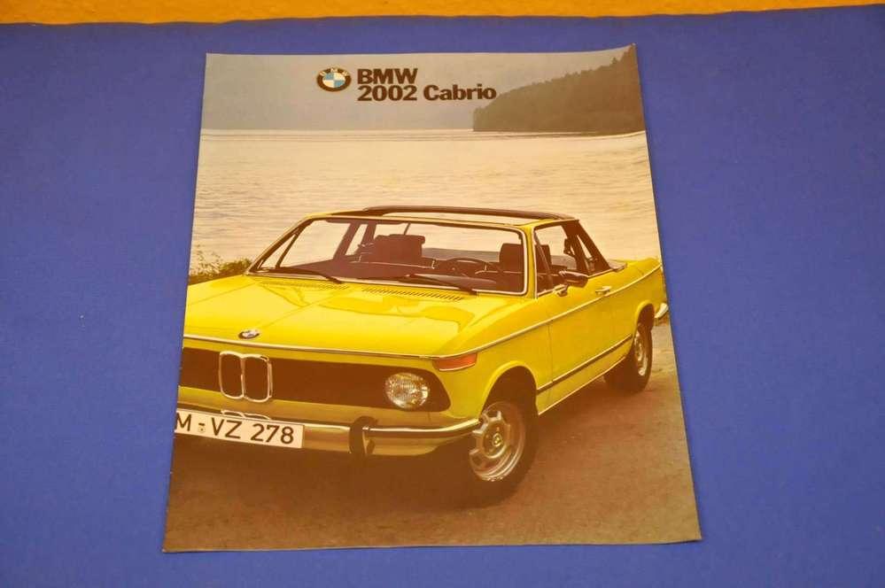 German Brochure Bmw 2002 Cabrio Buy It Safe At Shop Kusera