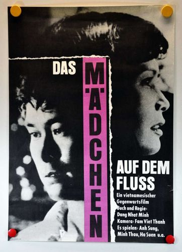 Film poster of GDR 1989 the girl on the river