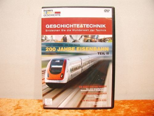 200 years Railway Part 2 DVD Video in german