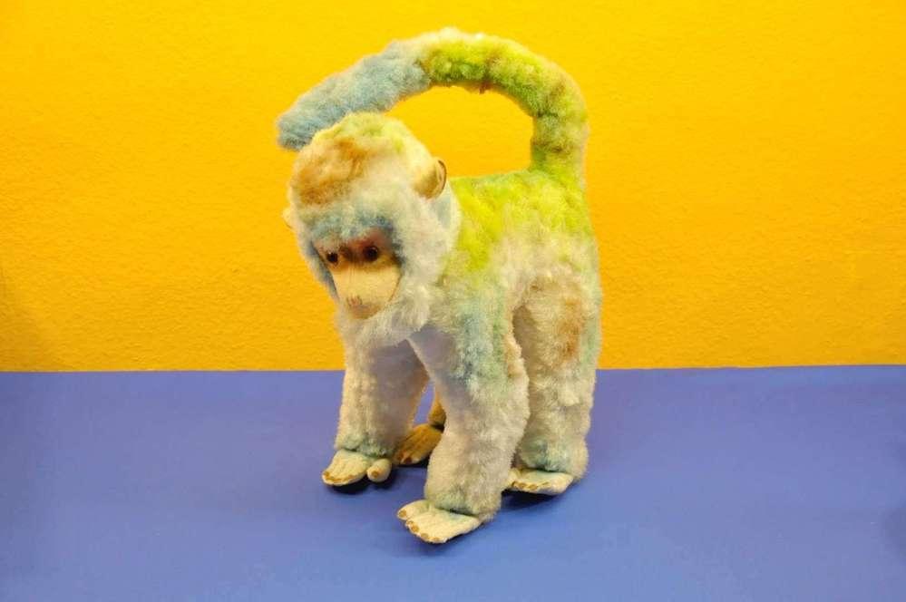 Vintage Plush Animal Of Big Rainbow Monkey For Sale At Kusera