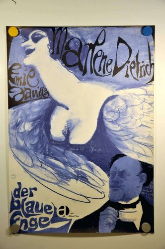 German movie poster The Blue Angel