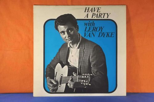 LP Have a Party with Leroy Van Dyke Vinyl