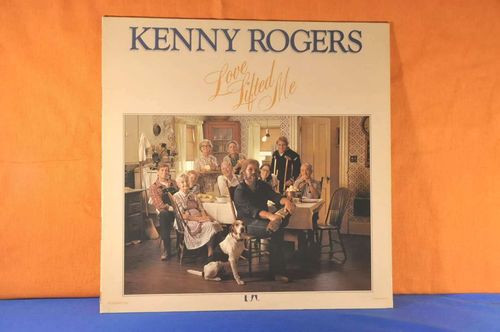 LP Kenny Rogers Love Lifted Me Vinyl