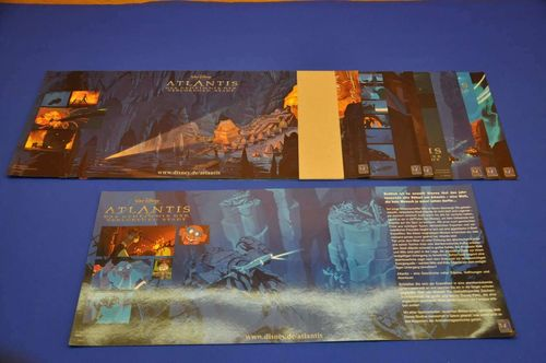 Cinema Lobby Card Set Disney Atlantis