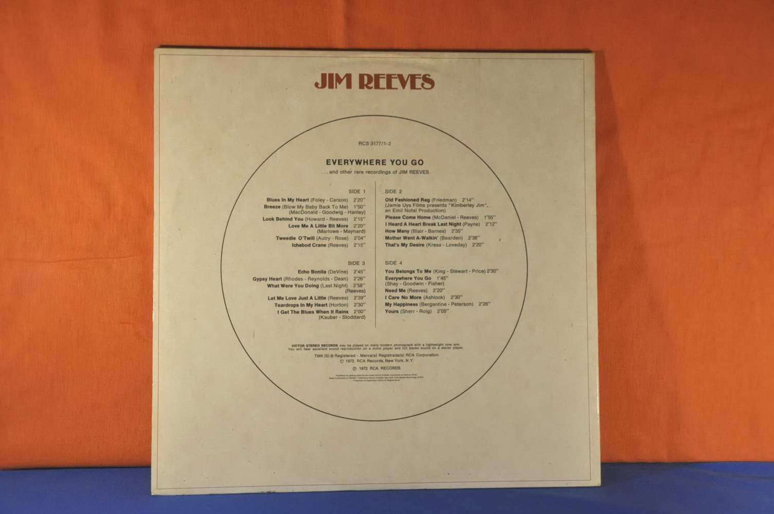 Vinyl Everywhere You Go Jim Reeves Lp Buy It At Shop Kusera