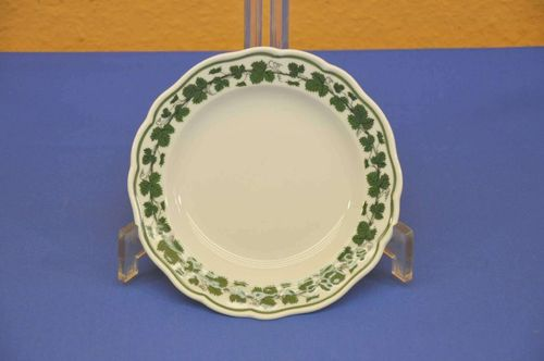 Meissen wine leaves bread plate