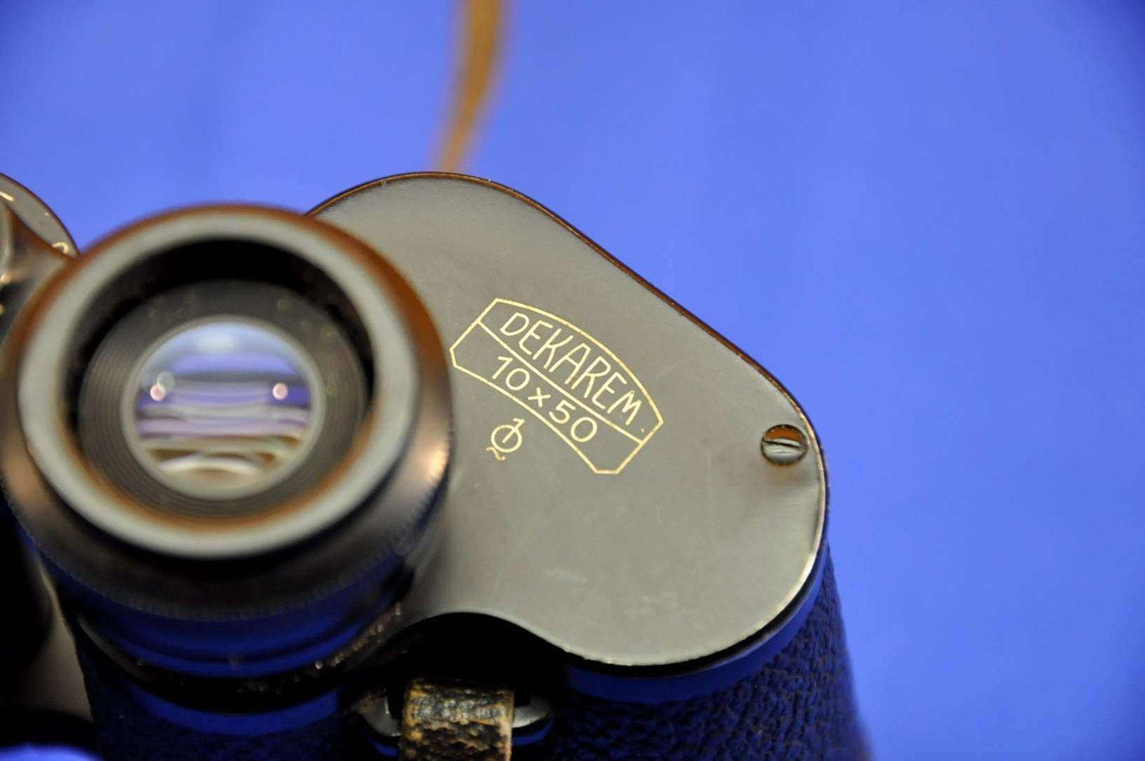 Binoculars Carl Zeiss Jena Dekarem 10x50 1Q + Bag