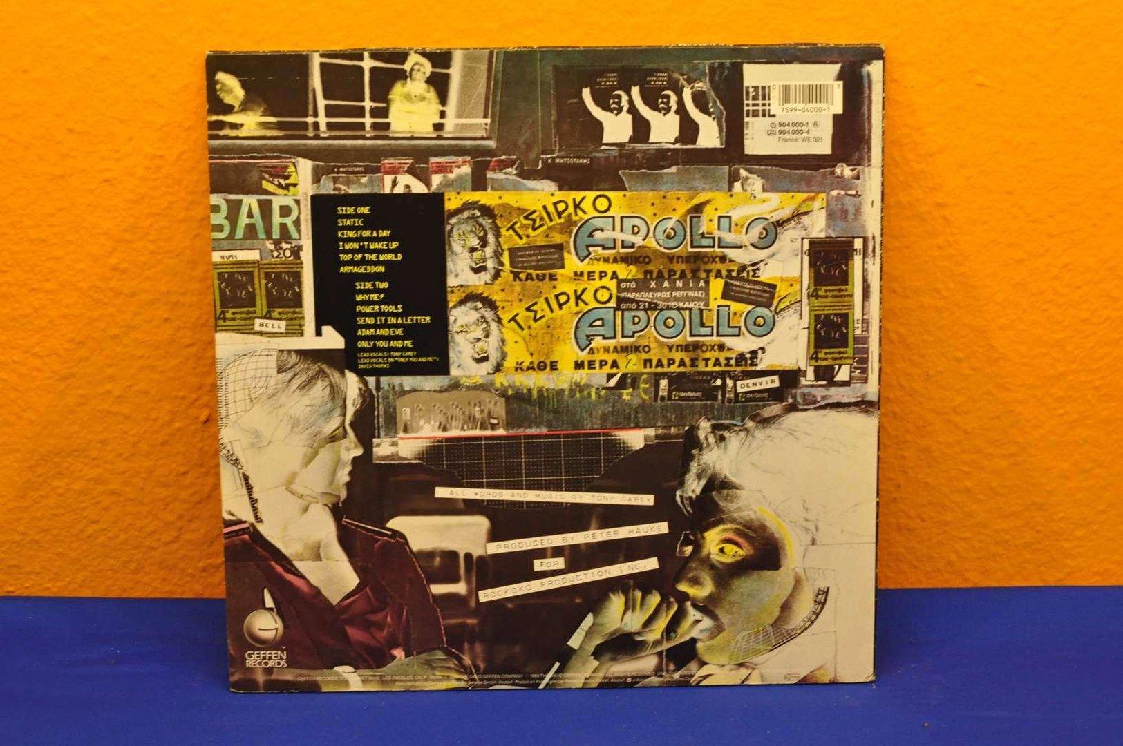 Vinyl Planet P Project By Tony Carey Lp Buy It At Shop