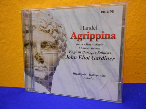 CD Handel Agrippina English Baroque Soloists