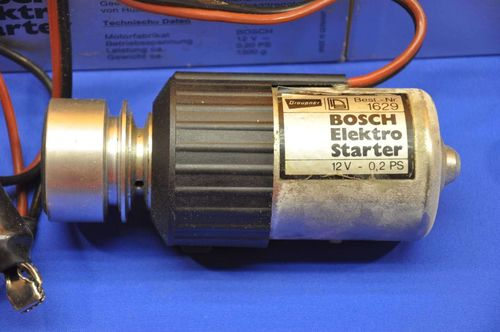 Electric starter Graupner Bosch 12V Nr.1629 0,20 PS