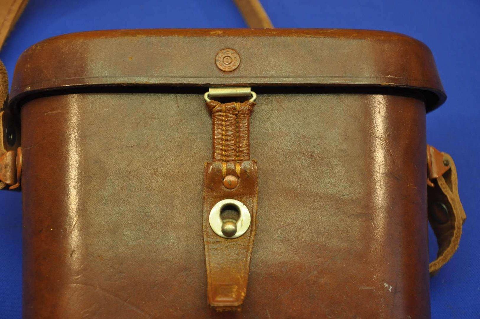 Fernglas carl zeiss jena notarem b mc im lederköcher ebay