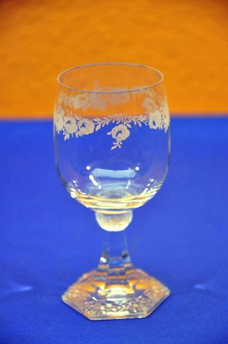 Rosenthal Classic Rose wine goblet Maria glass