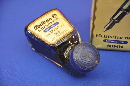 Pelikan Tintenfass 60 ml Royal Blue 4001 in OVP