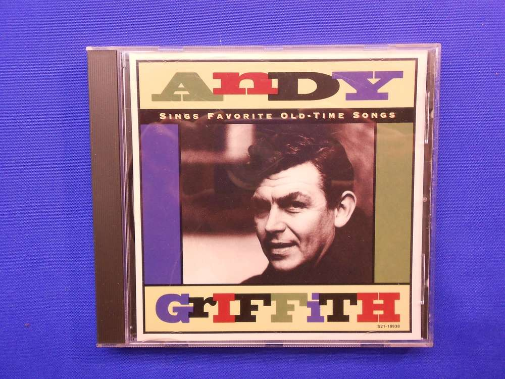 CD Andy Griffith Sings Favorite Old-Time Songs