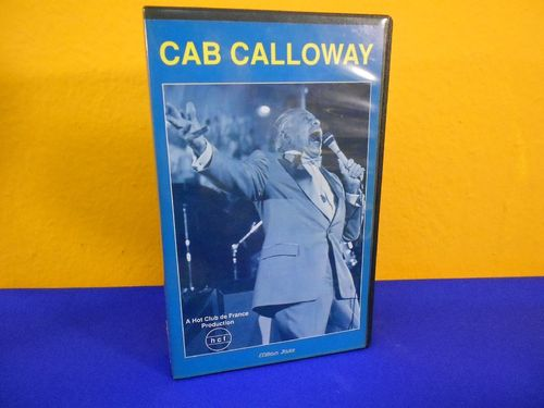 Cab Calloway Milan Jazz Home Video VHS