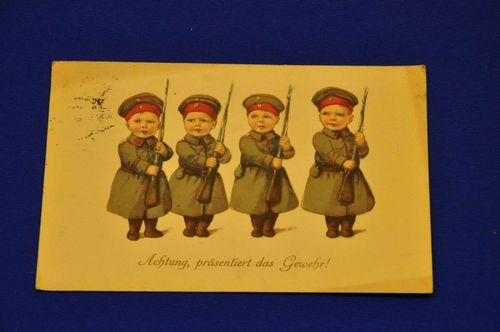 AK Attention presents the gun children's soldiers 1916