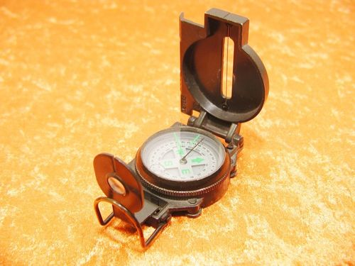 Herbertz outdoor compass with liquid damping