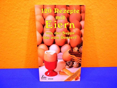 German book 120 recipes with eggs