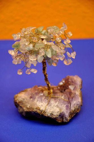 Gem tree Amethyst and others