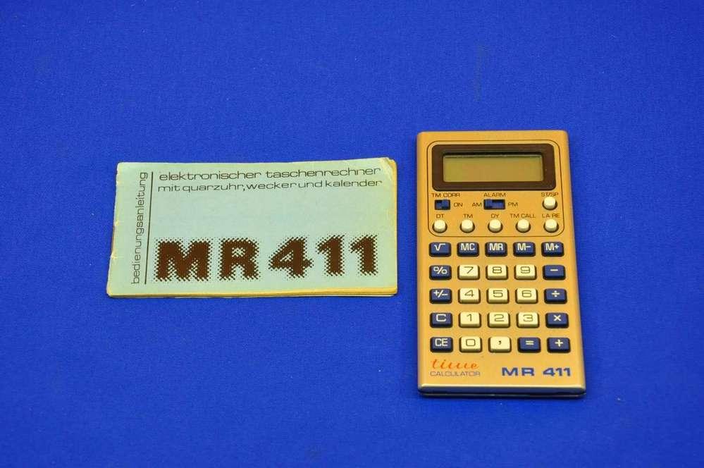 pocket calculator mr411 veb microelectronics for sale kusera