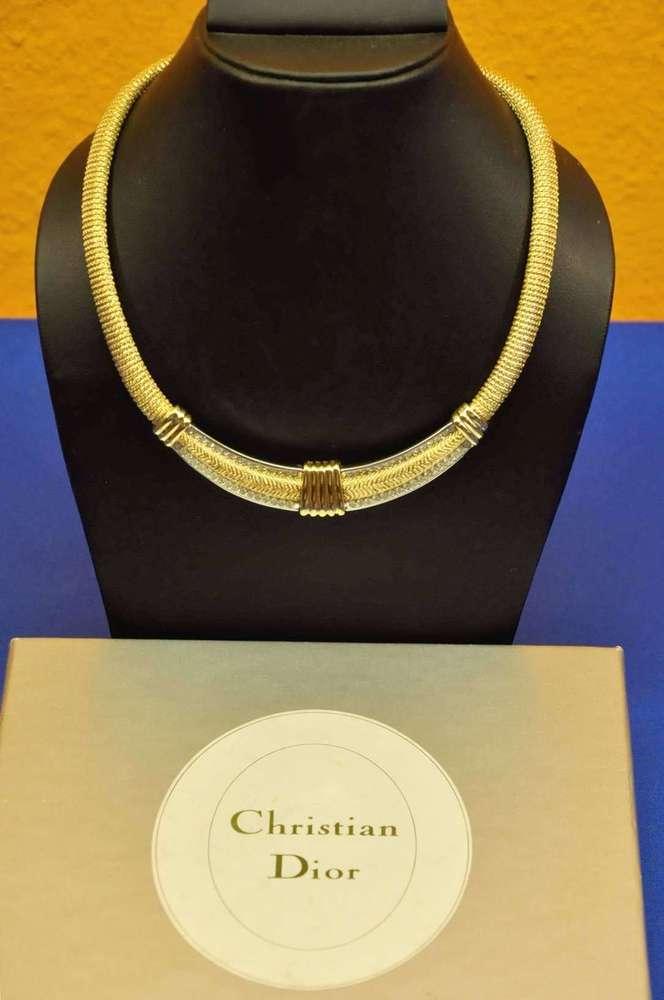 Set Halskette Ohrringe Schmuckset Kette Collier Emaille Blumen Strass Paris 1A