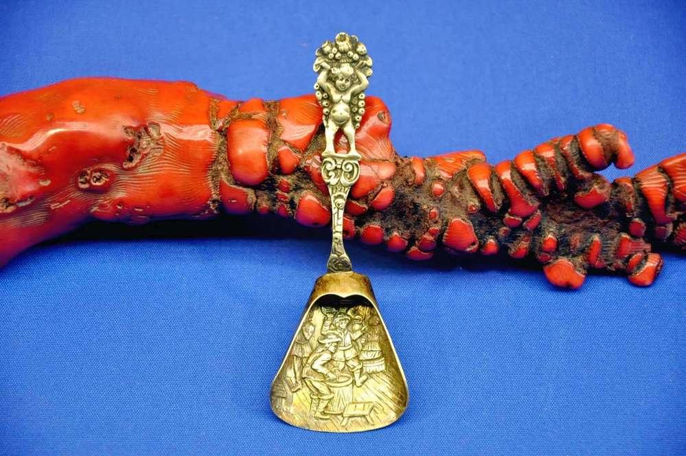 GROSSER SERVIERLÖFFEL 25 cm  ROSENTHAL ROMANCE 925 STERLING SILBER BJÖRN WINBLAD