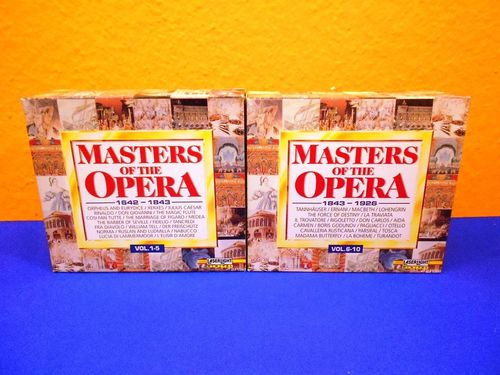 Masters Of The Operas Vol. 1 bis 10 CD Sets