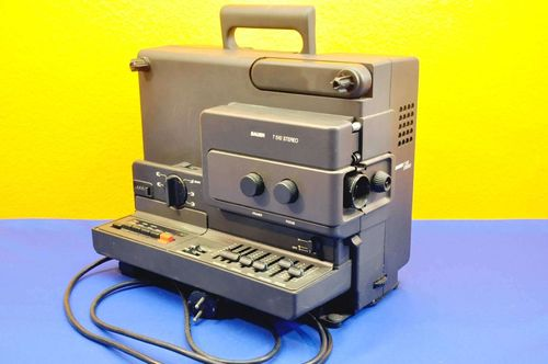 Super 8 film projector Bauer T510 stereo with Xenovar