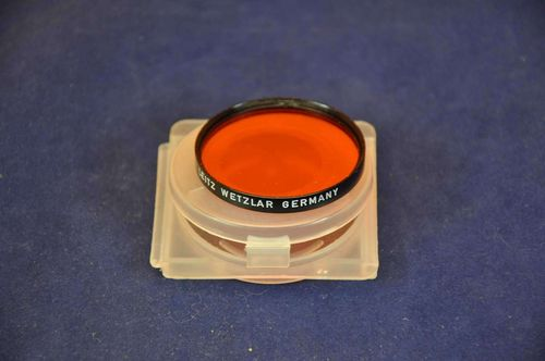 Orange Filter Serie VI OR von Leitz Wetzlar Germany + Box