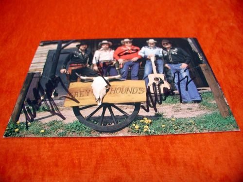 Greyhounds Country Western signed autograph card