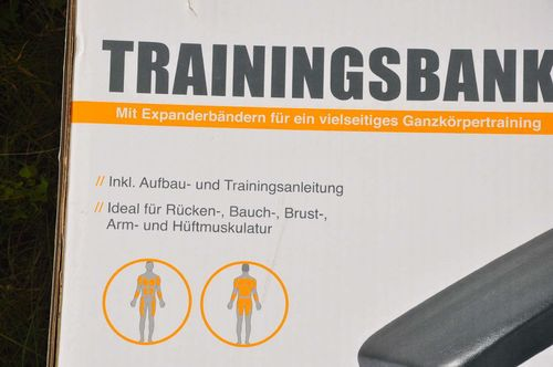 Crivit Sports Trainingsbank neu OVP