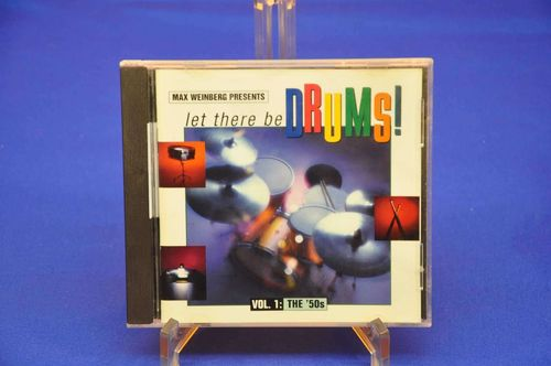 CD Let there be Drums Vol 1 The 50s